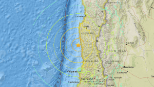 Huge Earthquake Strikes Off Coast of Chile