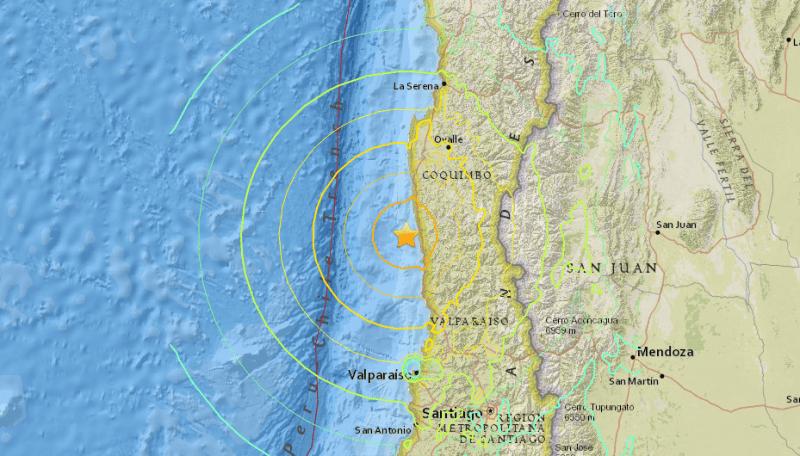 Huge Earthquake Strikes Off Coast of Chile