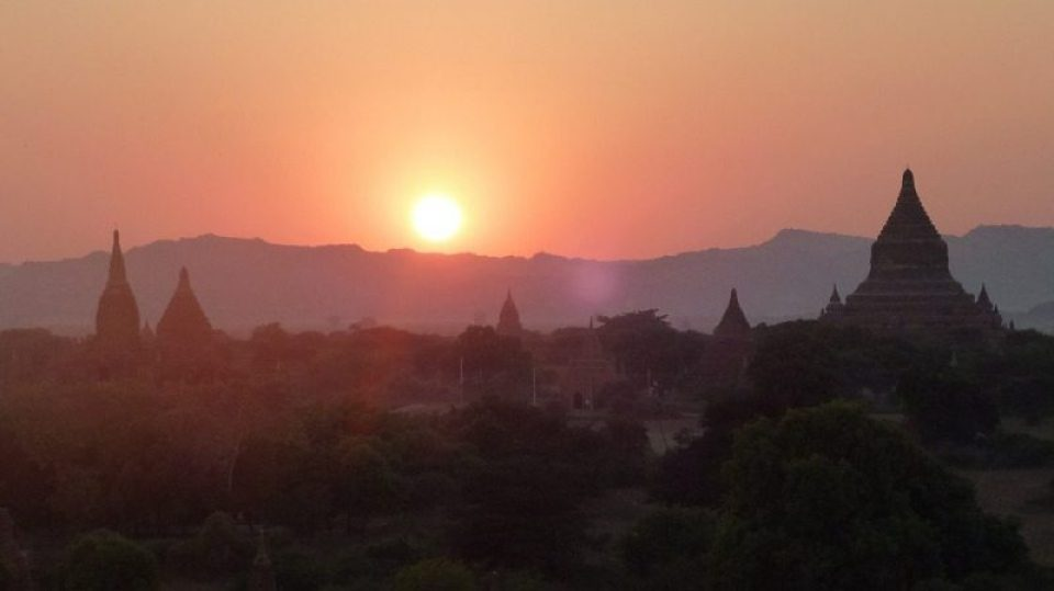 Bagan Temple Sunsets