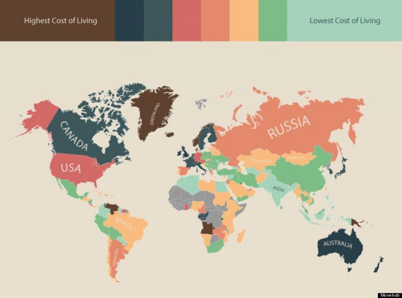 The World's Cheapest & Priciest Countries to Travel