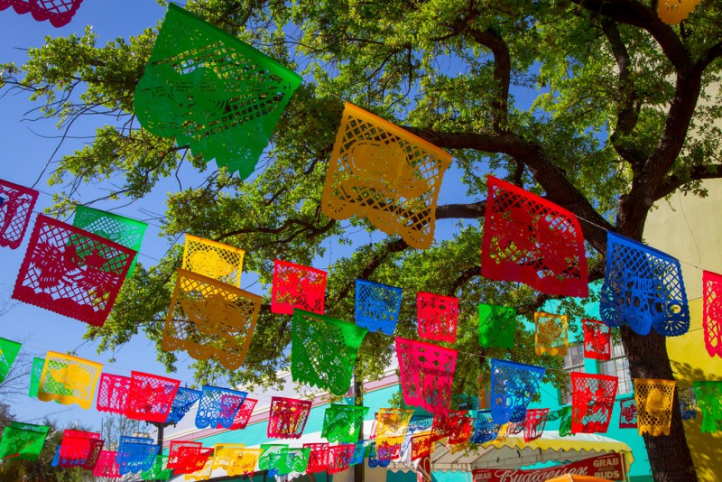 cinco de mayo tradition: papel picado