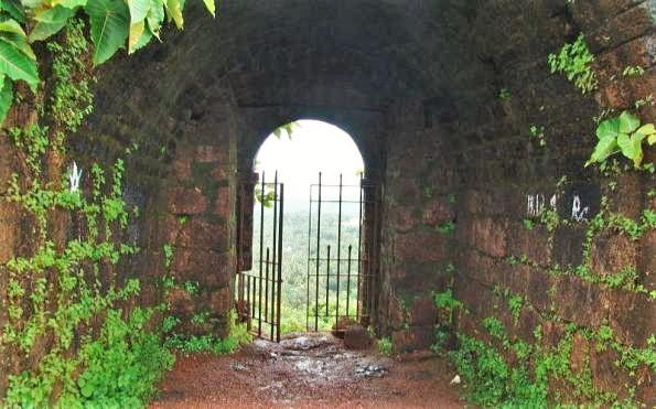 Chapora Fort in Goa, India