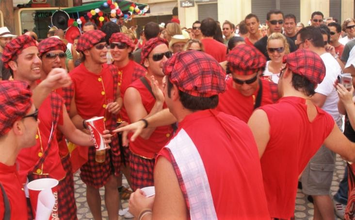 Spanish Fiestas - La Feria de Agosto in Malaga
