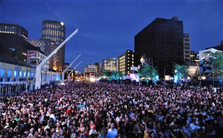 Summer Music Festival - The Montreal Jazz Fest in Canada