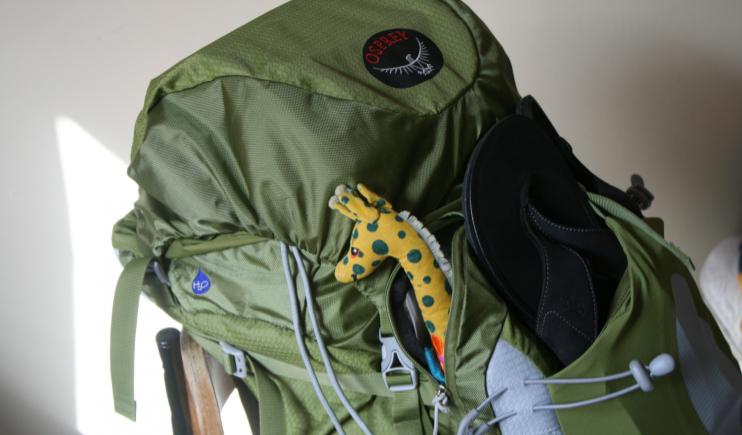 A small backpack for hassle free travel- Top Backpacking Tips