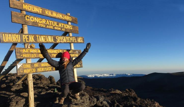 Reaching the top of Mt Kilimanjaro- Endangered Places