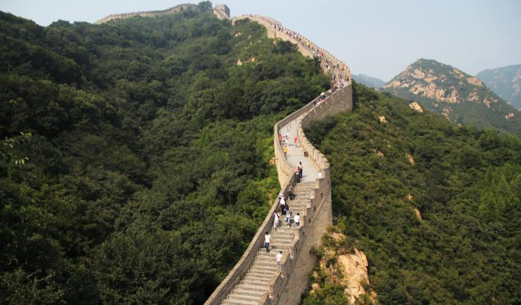 Stunning views of the Great Wall of China- Endangered Places