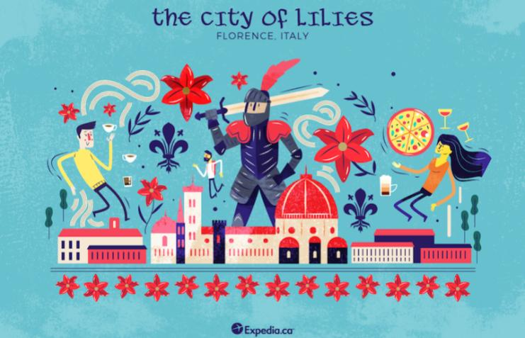 The City Of Lillies- Florence, City Nicknames