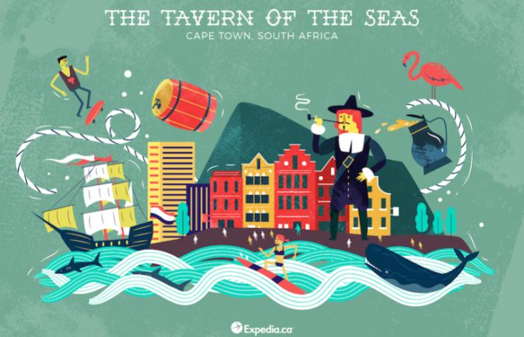 The Tavern Of The Seas- Cape Town, City Nicknames