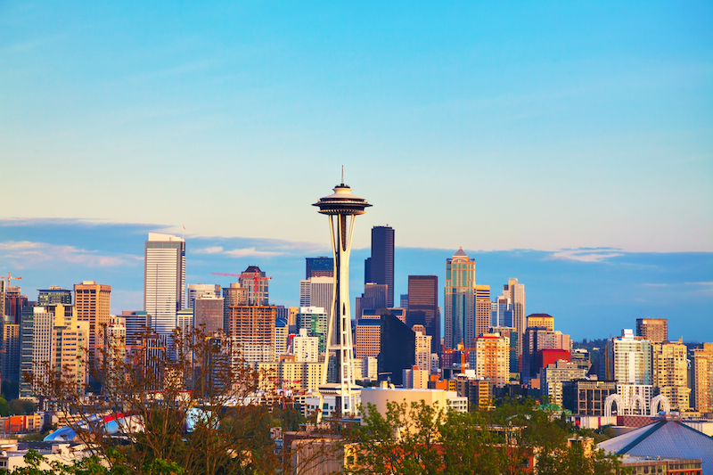Seattle, Washington- West Coast USA
