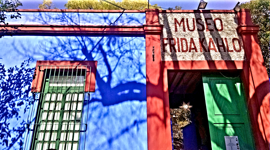 Learn more about Frida Kahlo & her work as Casa Azul- Mexico City