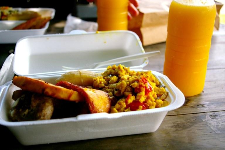 Ital vegetarian dish Jamaica
