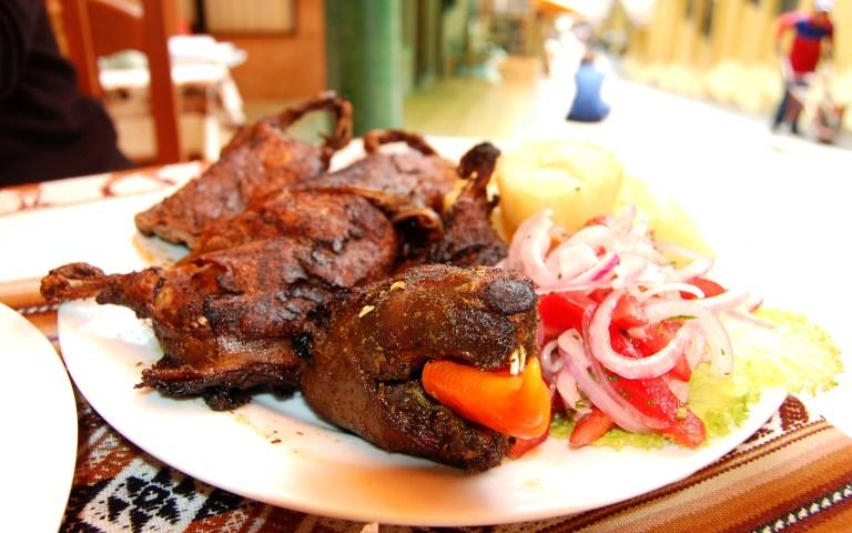Cuy al Horno a famous Peruvian food