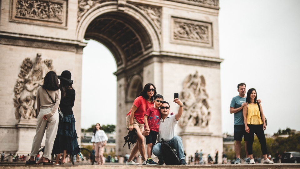Chinese Travellers in Europe