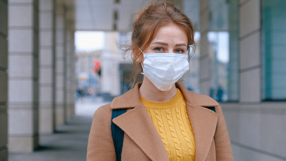 safe travel measures using facemask