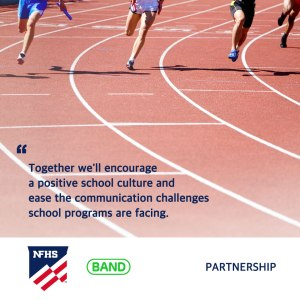 NFHS Announced BAND as Corporate Partner