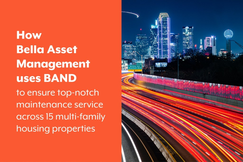 Property Management company uses BAND app for operations management
