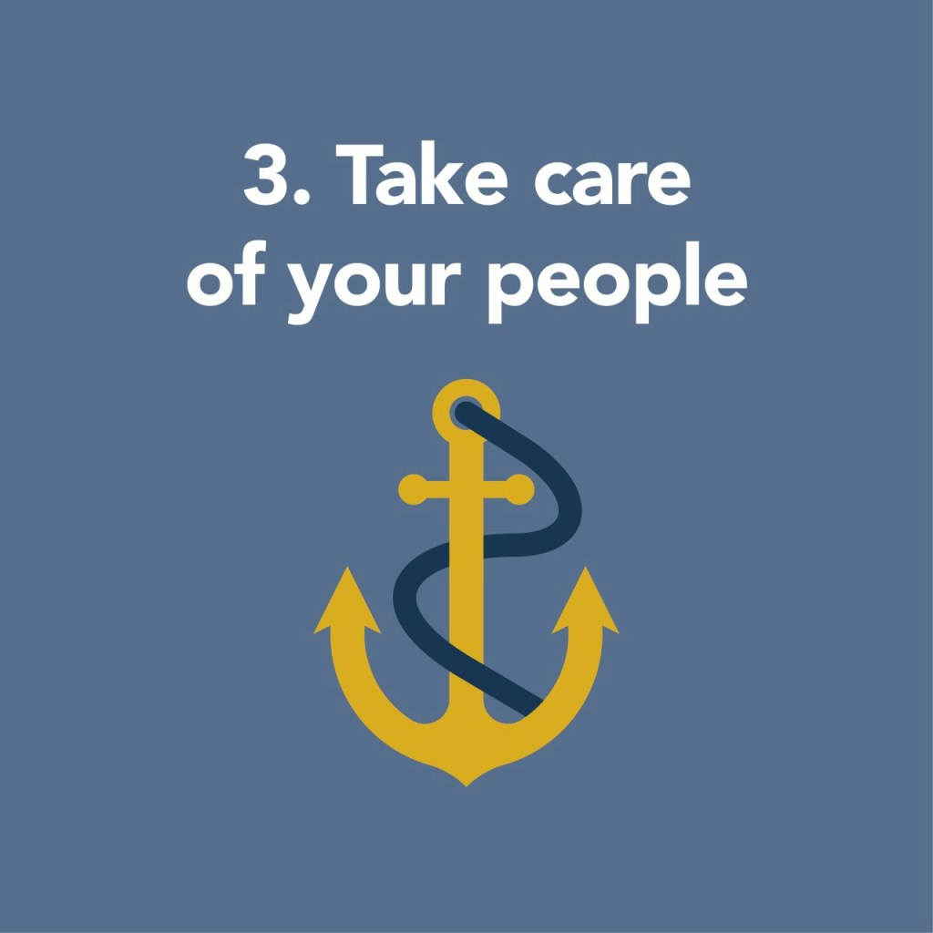 take care of your people during COVID-19