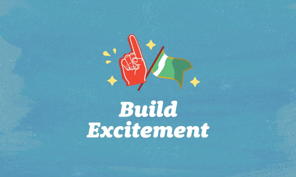 build excitement with your virtual pep rally
