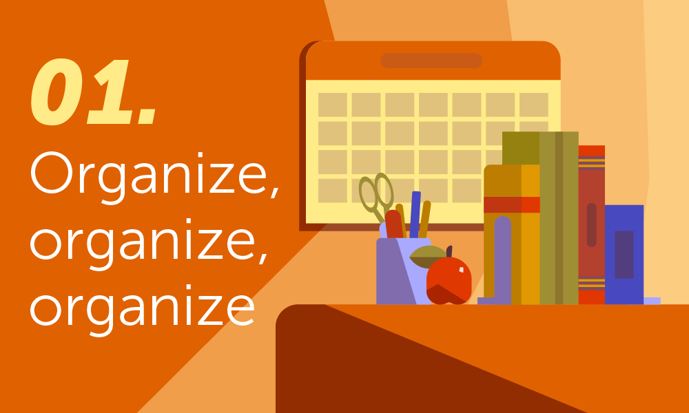 organize for the new school year
