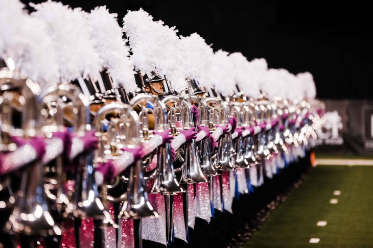 Blue Devils brass perform at DCI Finals