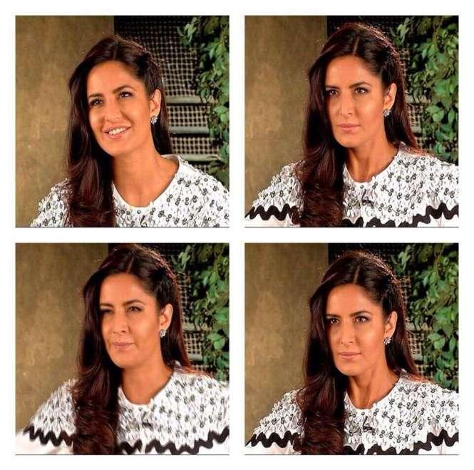 Katrina Kaif Expressiosn