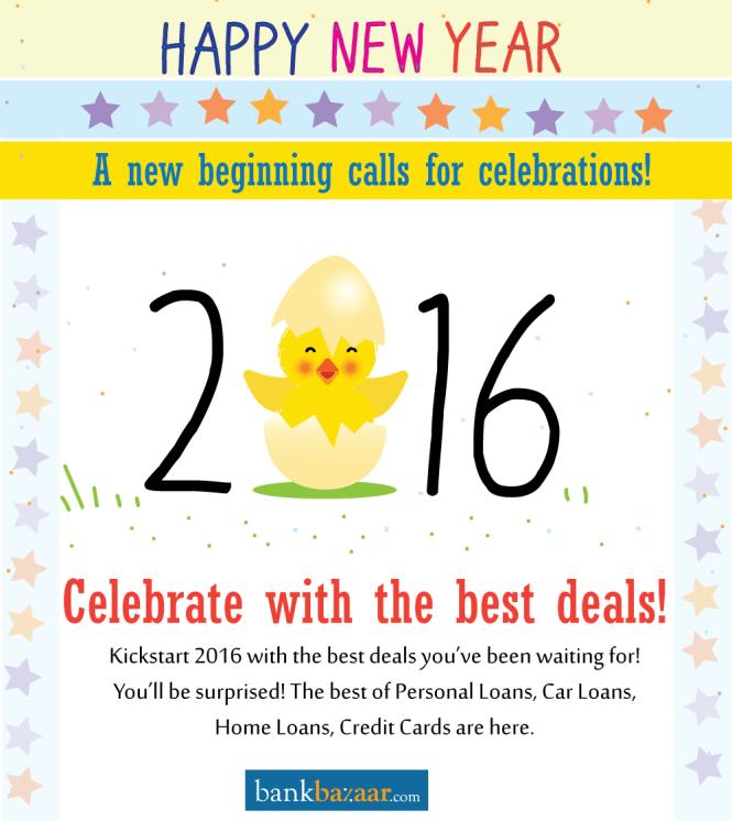 Happy New Year From BankBazaar