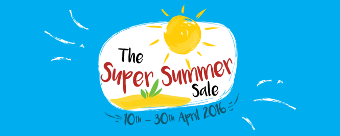 The Super Summer Sale Is Here!