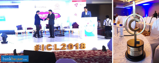 BankBazaar Mobile App Awarded At The India Content Leadership Awards 2018