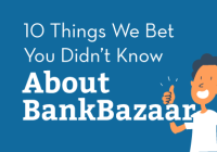 10 Things We Bet You Didn't Know About BankBazaar
