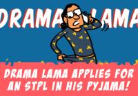 Drama Lama Applies For An Instant Loan In His Pyjama!