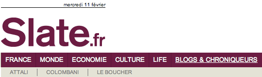 Les blogs de Slate