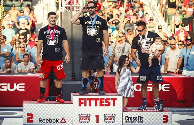2014 CrossFit Games Podium