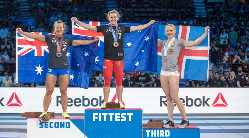 2017 CrossFit Games Women's Podium