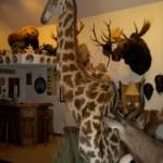 Giraffe Pedestal 3