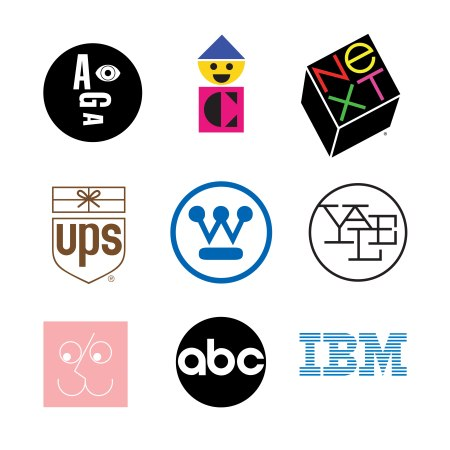 Paul Rand, Corporate logos.