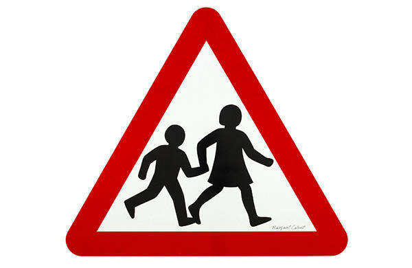 Children Crossing. Jock Kinneir, Margaret Calvert. Kinneir Calvert Associates. 1965.