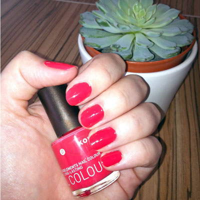 Korres Nail Colour in Coral Pink