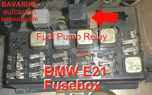 BMW E21 Fuel Pump Relay – 320i, 3206, 323i | Bavarian Autosport Blog