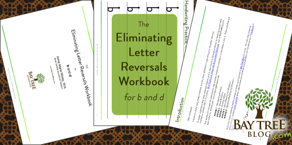 The Eliminating Letter Reversals Workbook (BayTreeBlog.com)