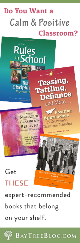 Do You Want a Calm and Positive Classroom? Get THESE expert-recommended books that belong on your shelf.