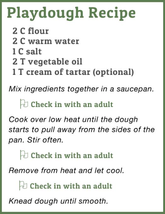 Playdough Recipe with Student Check-Ins (BayTreeBlog.com)