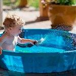 Precauciones con el bebé en la playa o la piscina