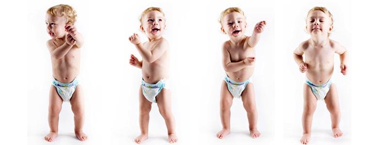 beneficios de la danza para los bebés