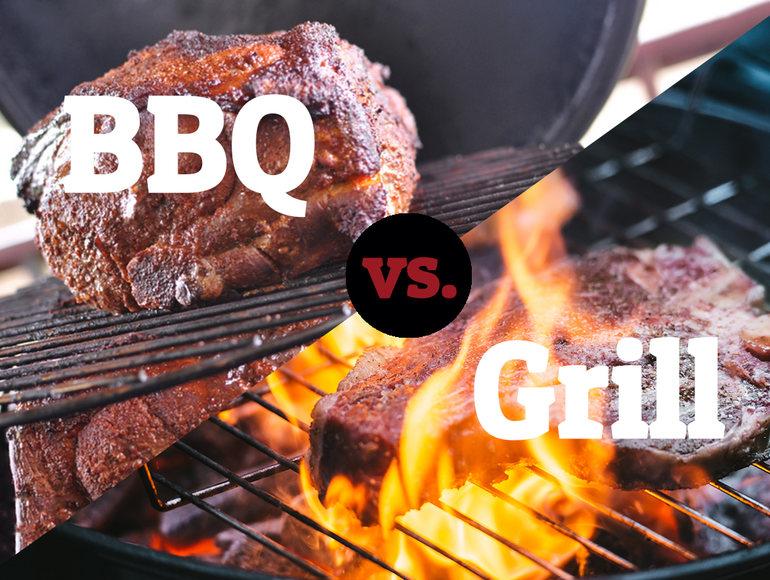 BBQ e Grill NON sono sinonimi!