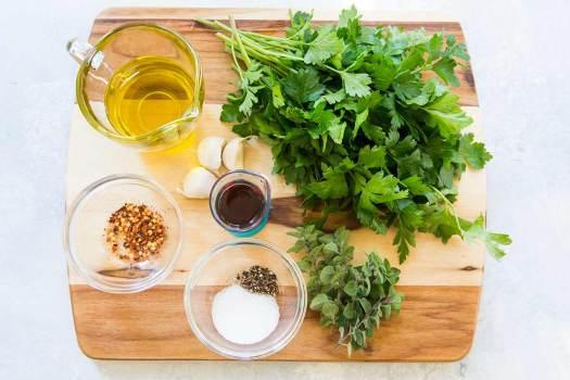 Ingredienti del Chimichurri