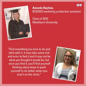 College advice feature - Amanda Bayless