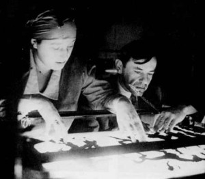 Lotte Reiniger multiplane camera