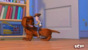 luxo ball Toy Story 2 Easter Egg