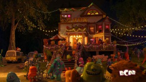 Pizza Truck appears in Pixar's MONSTERS UNIVERSITY